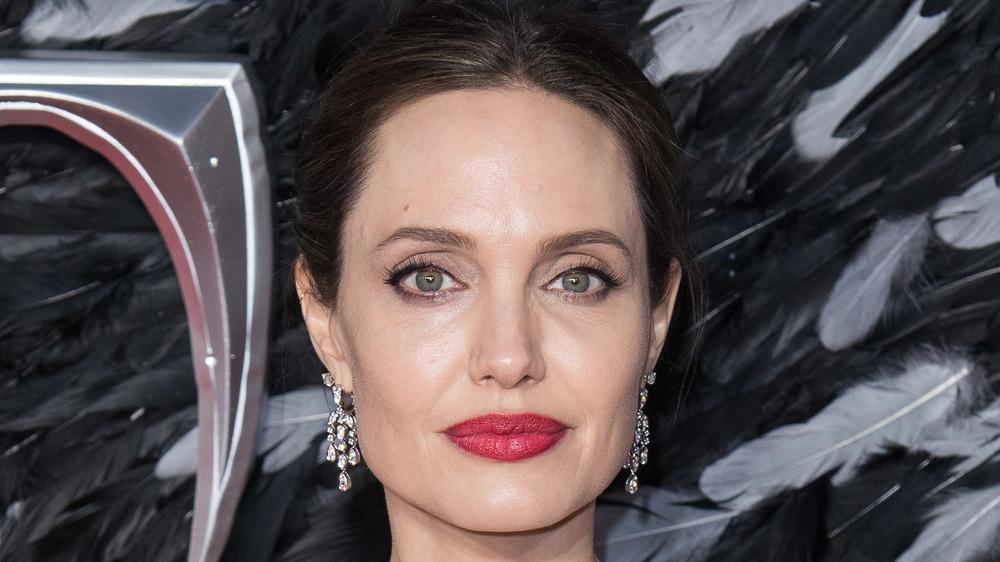 Angelina Jolie, Maleficient red carpet