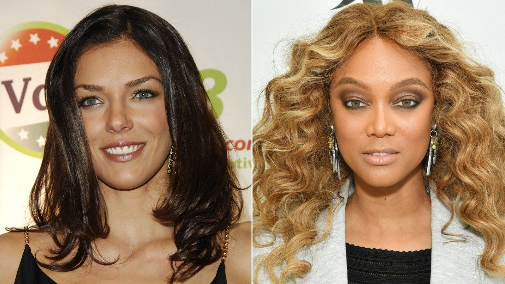 Adrianne Curry, Tyra Banks