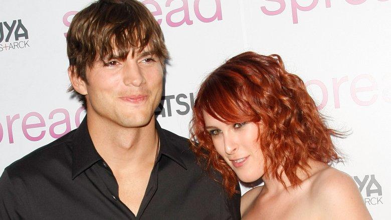 Ashton Kutcher and Rumer Willis