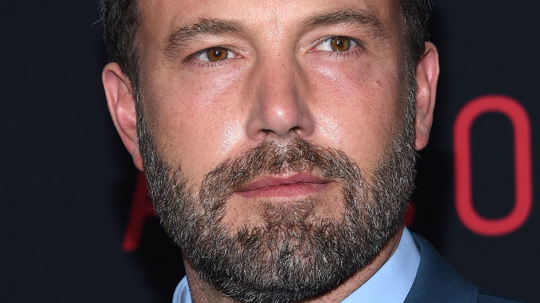 Ben Affleck with a neutral expression