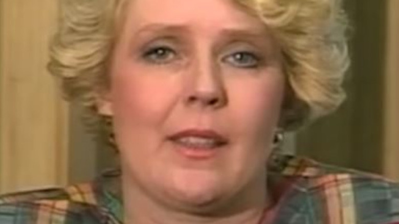 Betty Broderick looking at camera during Oprah interview