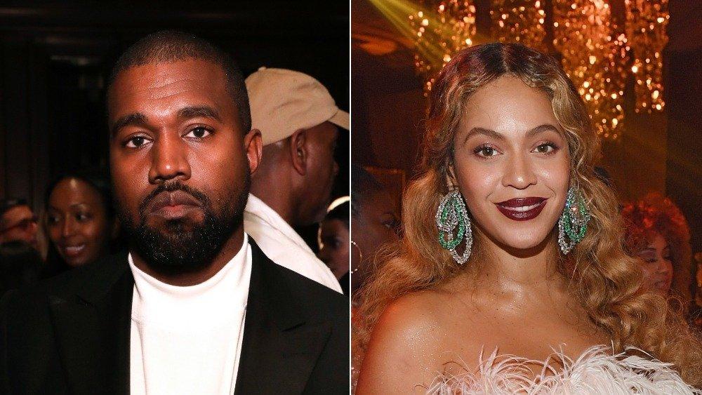Kanye West and Beyonce