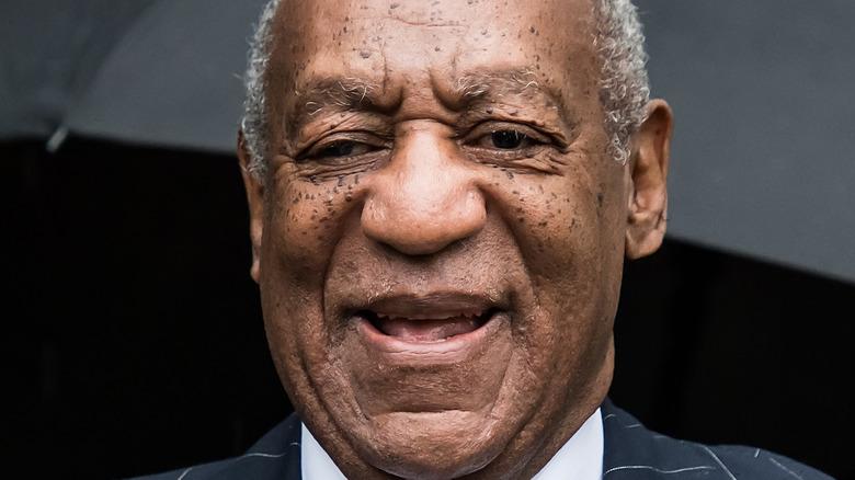 Bill Cosby outside court in 2018