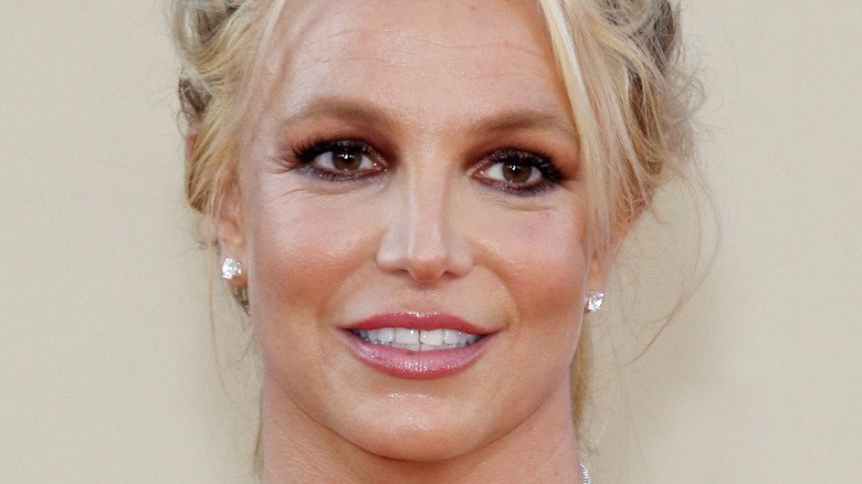 Britney Spears diamond studs