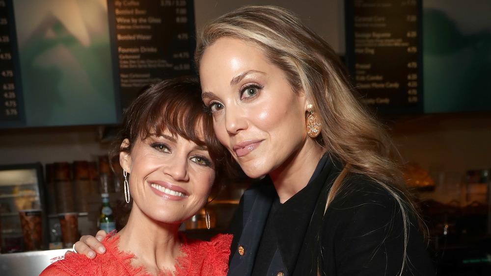 Carla Gugino and Elizabeth Berkley
