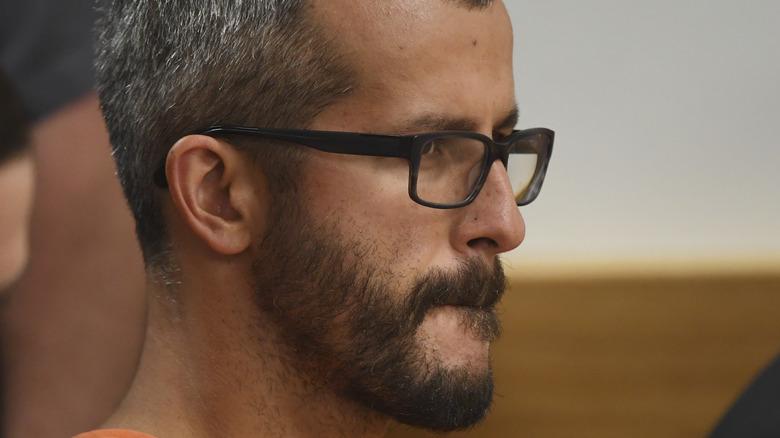 Chris Watts in court