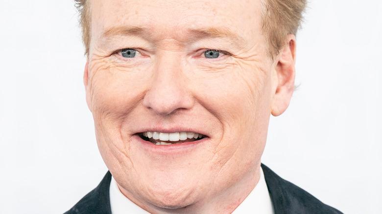 Conan O'Brien, smiling