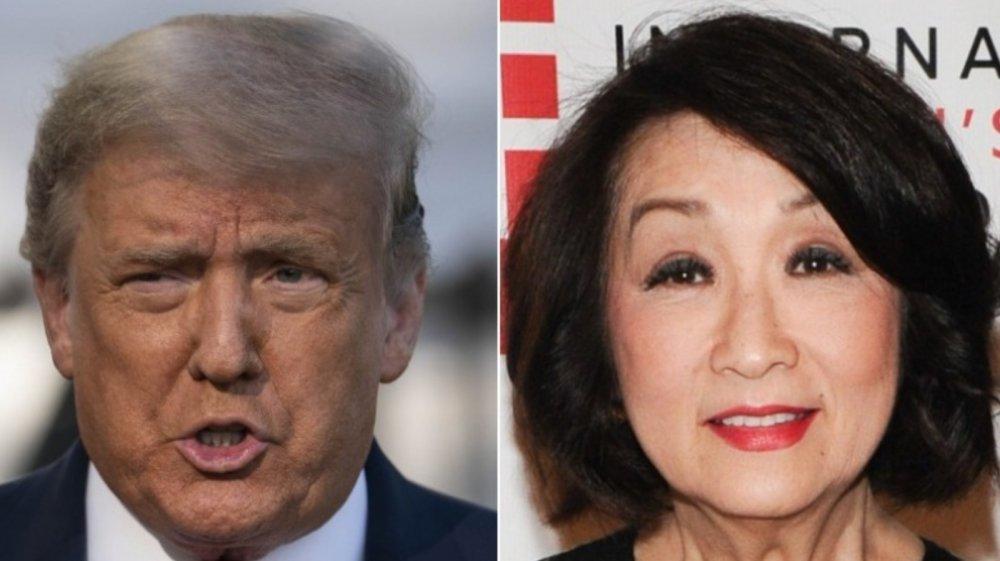 Donald Trump; Connie Chung