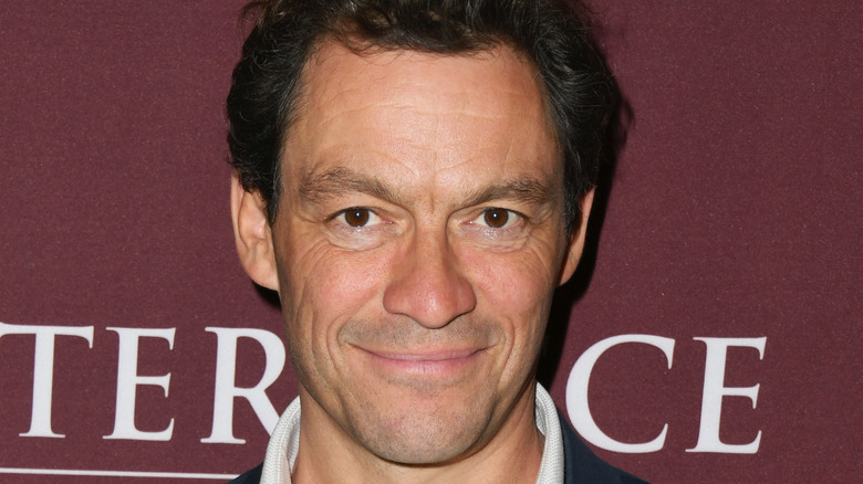 Dominic West smiling
