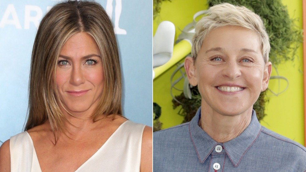 Jennifer Aniston, Ellen DeGeneres