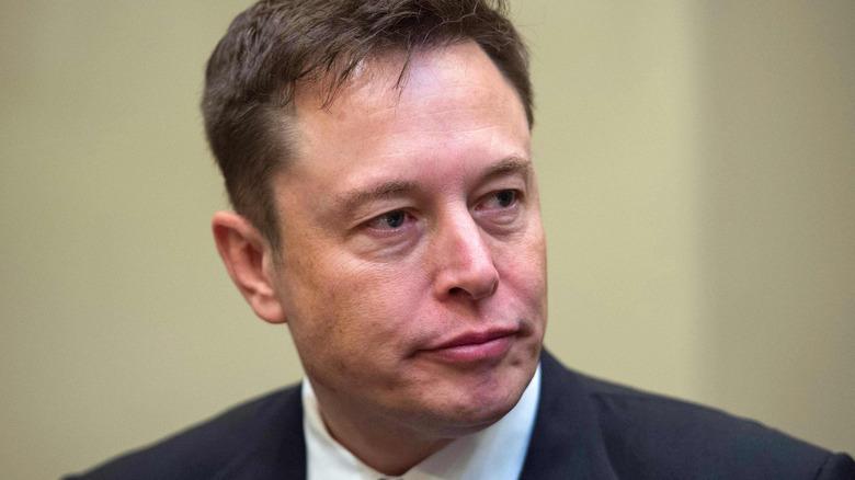 Elon Musk giving side-eye
