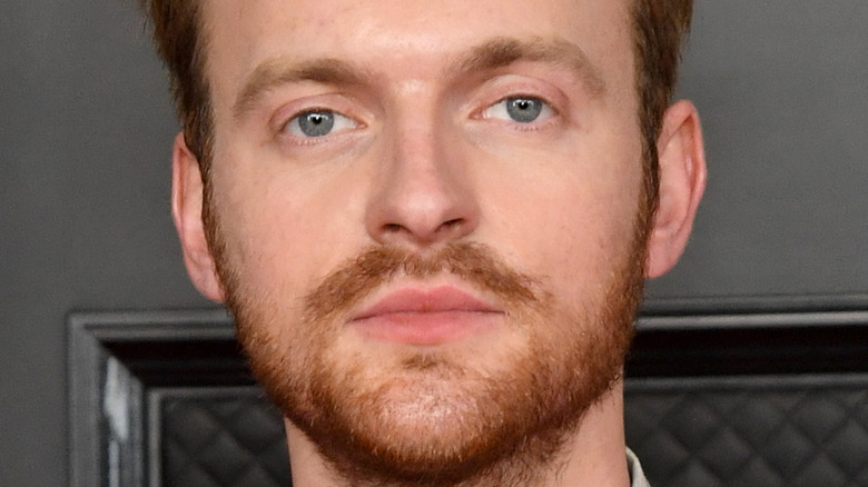 Finneas on the Grammys red carpet
