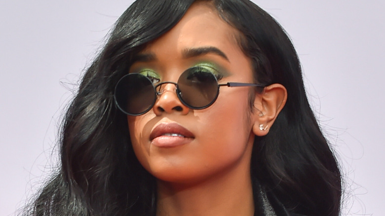 H.E.R on the red carpet