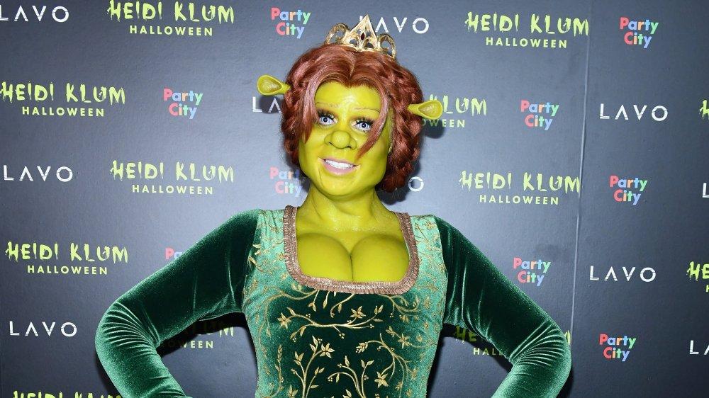 Heidi Klum as fiona