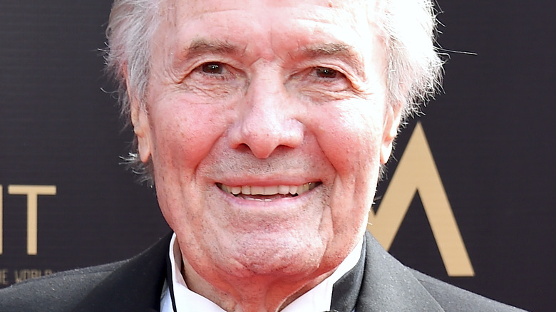 Jacques Pepin smiling on the red carpet 2019