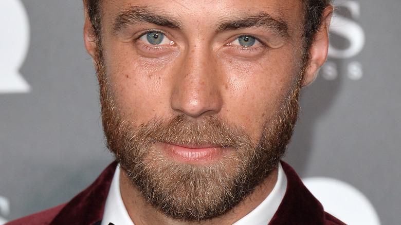 James Middleton blue eyes