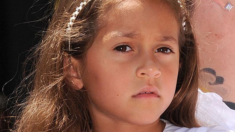 Jennifer Lopez's daughter Emme at her mom's Hollywood Walk of Fame ceremony