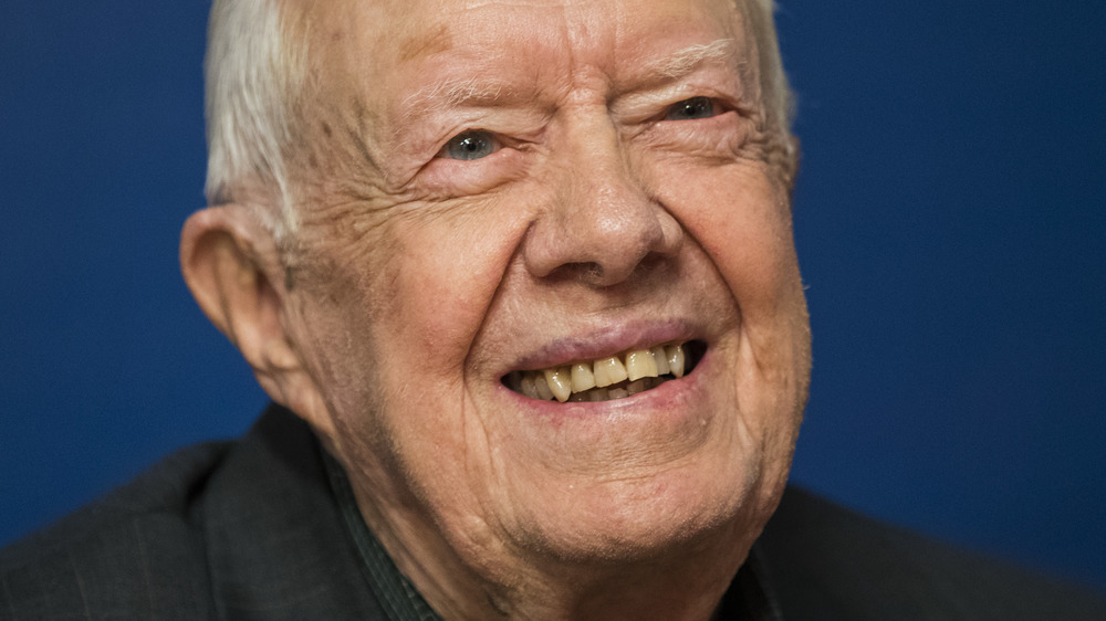 Jimmy Carter smiling