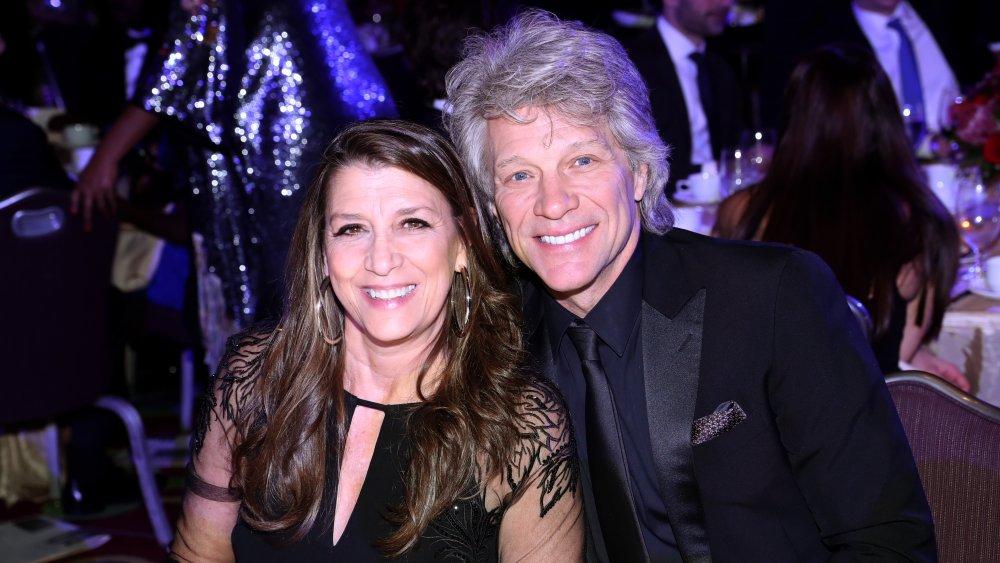 Jon Bon Jovi and Dorothea Hurley at charity dinner