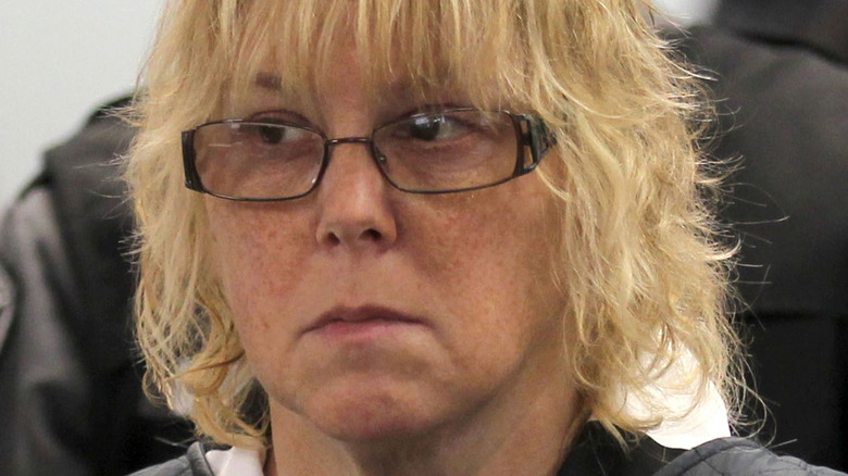 Joyce Mitchell appearing in court