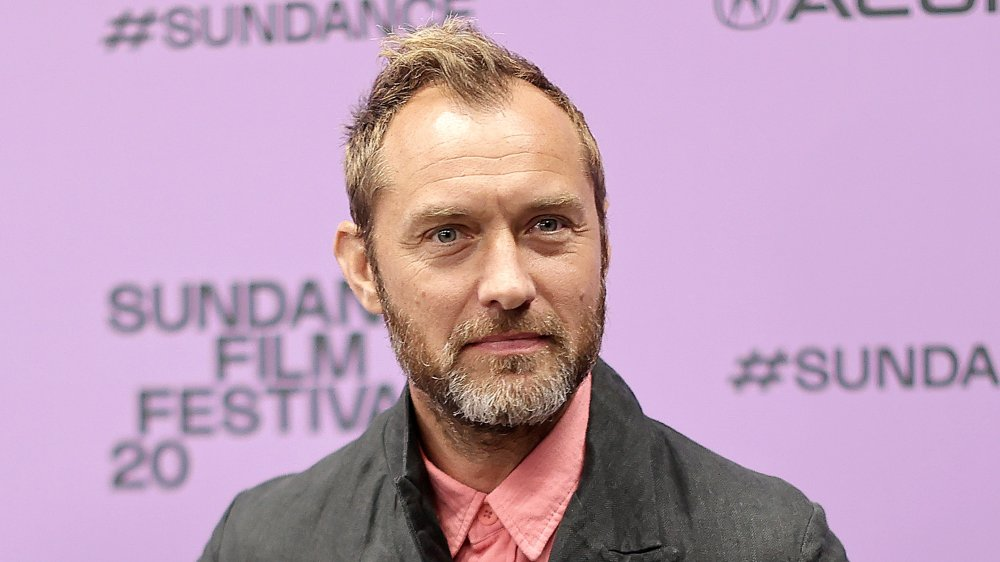 Jude Law at The Nest premiere at Sundance Film Festival 2020
