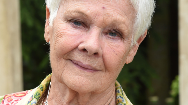 Judi Dench attends the Chelsea Flower Show 2019