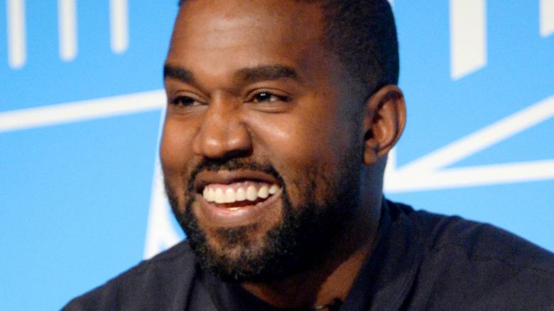 Kanye West at Vanity Fair Oscar After Party 2020