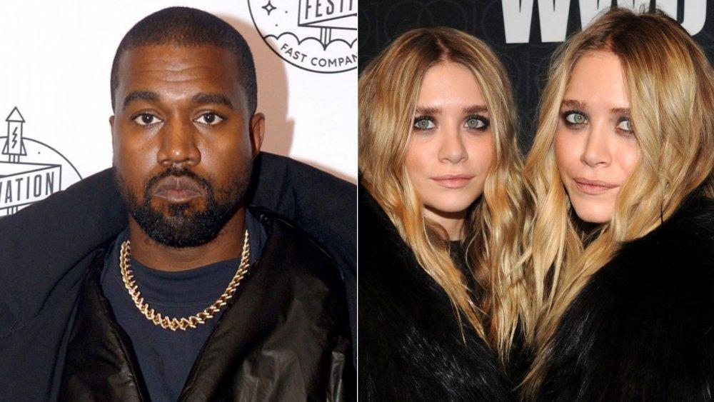 Kanye West, Ashley and Mary-Kate Olsen