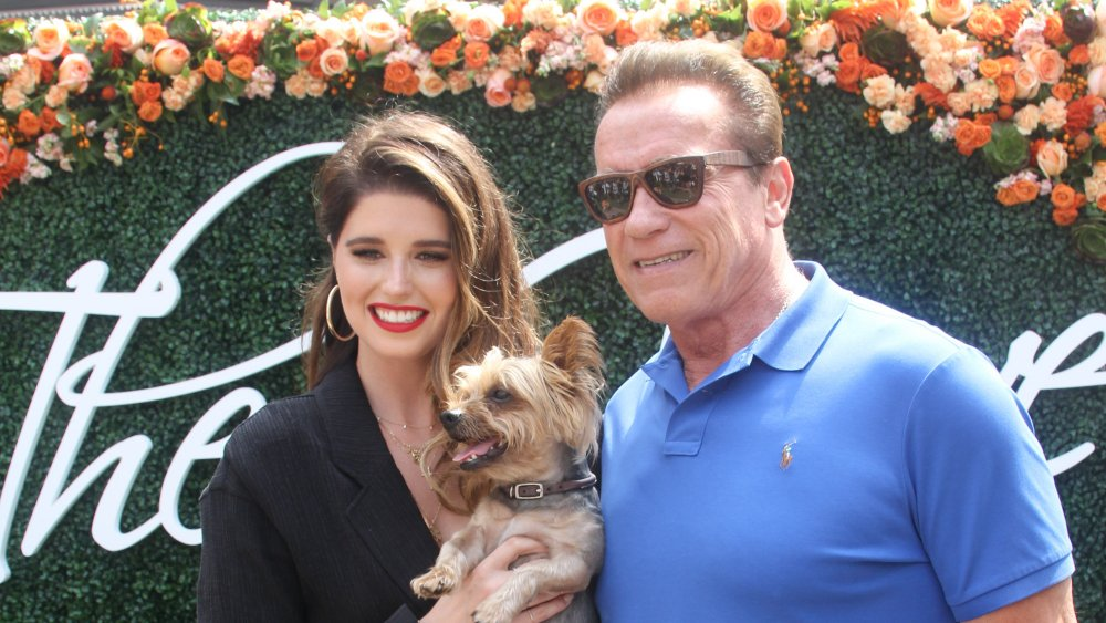 Katherine Schwarzenegger and dad Arnold Schwarzenegger