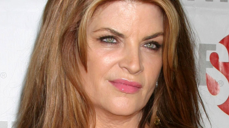 Kirstie Alley on the red carpet