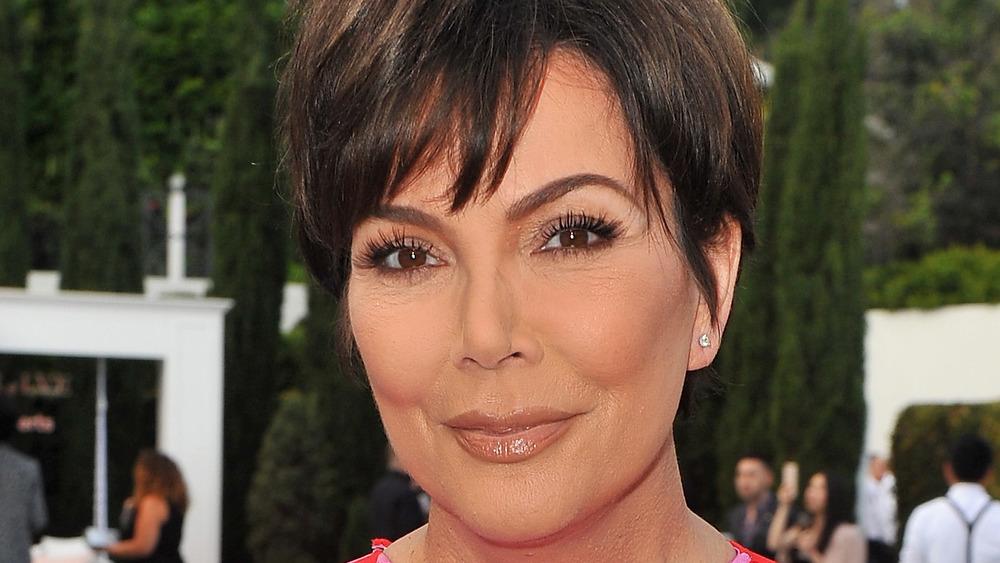 Kris Jenner smirk