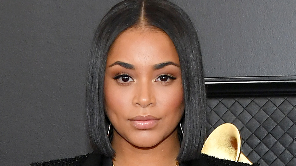 Lauren London at the 62nd Annual GRAMMY Awards