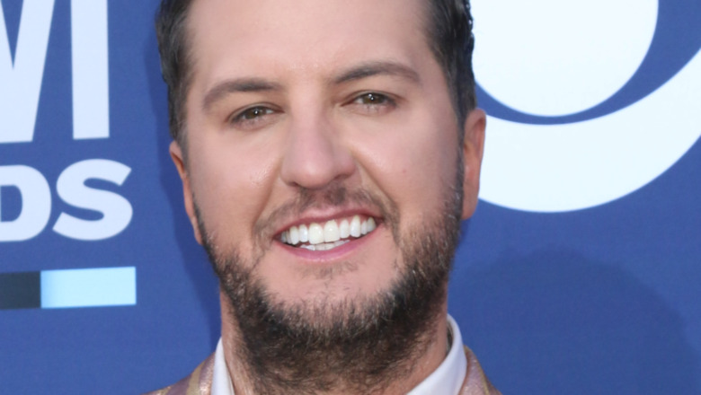 Luke Bryan smiling