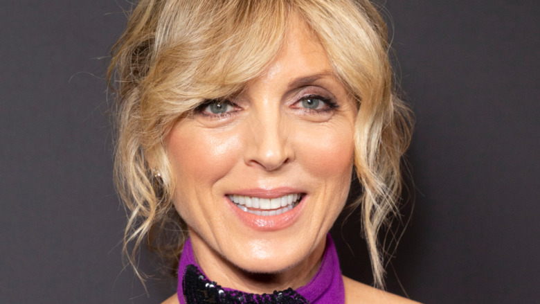 Marla Maples smiles at the camera