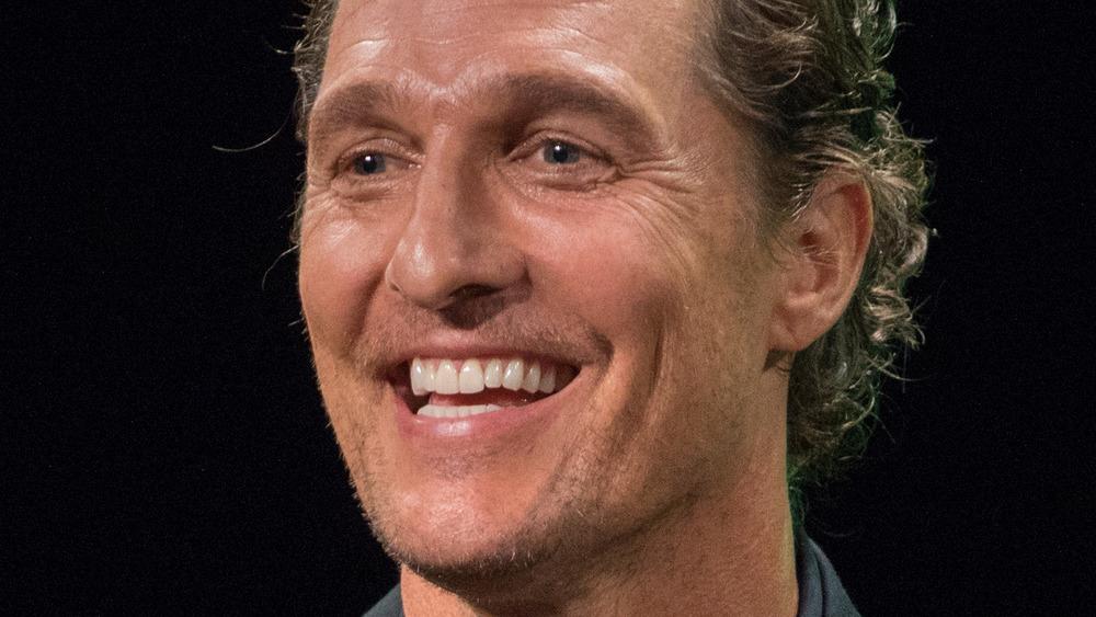 Matthew McConaughey on stage