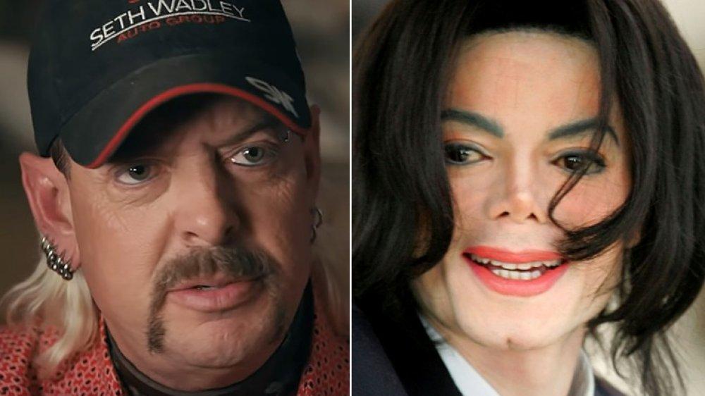 Joe Exotic and Michael Jackson