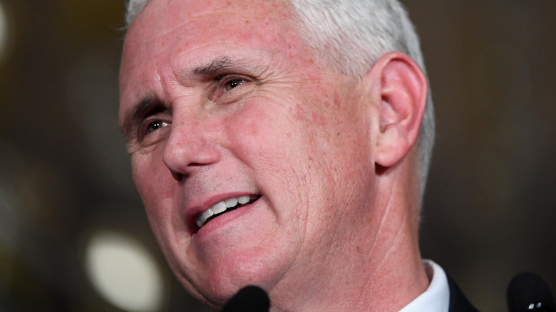 Mike Pence smiling