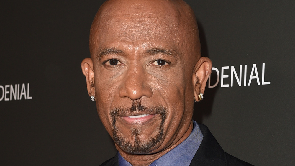 Montel Williams at the Architects of Denial premeire