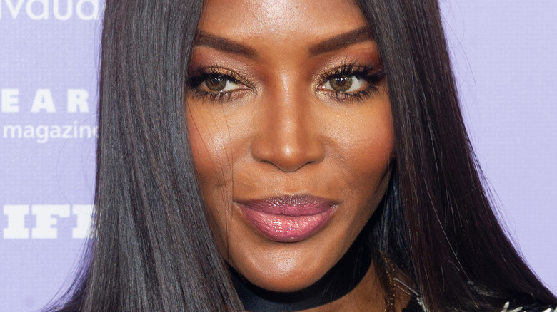 Naomi Campbell on the red carpet