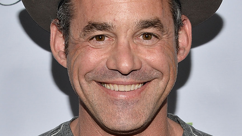 """Nicholas Brendon attending the """"Ms. In The Biz"""" book launch party"""