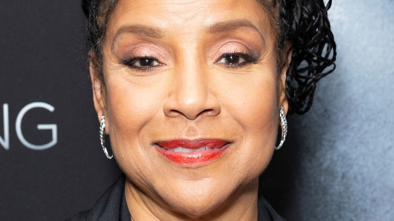 Phylicia Rashad smiles on the red carpet