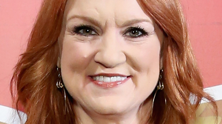 Ree Drummond smiles at an event