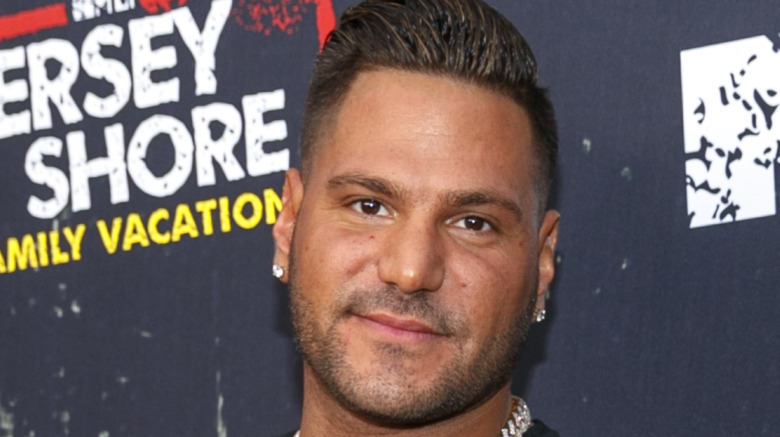 Ronnie Ortiz-Magro on red carpet