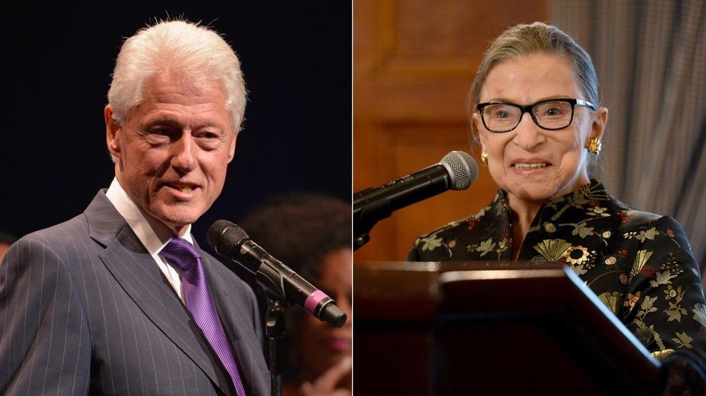 Bill Clinton, Ruth Bader Ginsburg