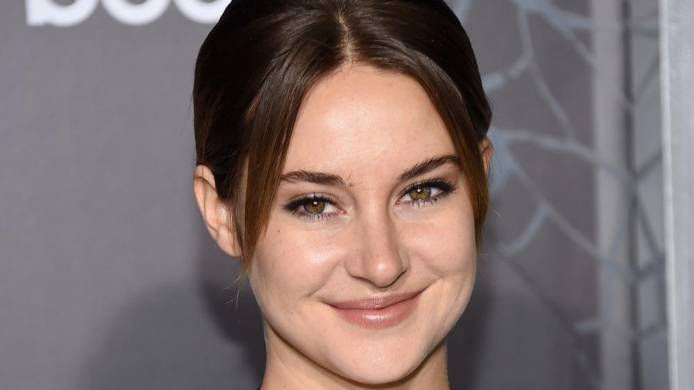 Shailene Woodley smiling
