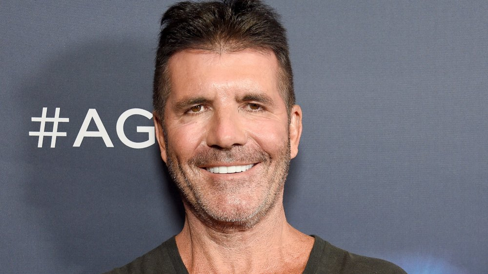 """Simon Cowell arrives at """"America's Got Talent"""" Season 14 Live Show Red Carpet at Dolby Theatre"""