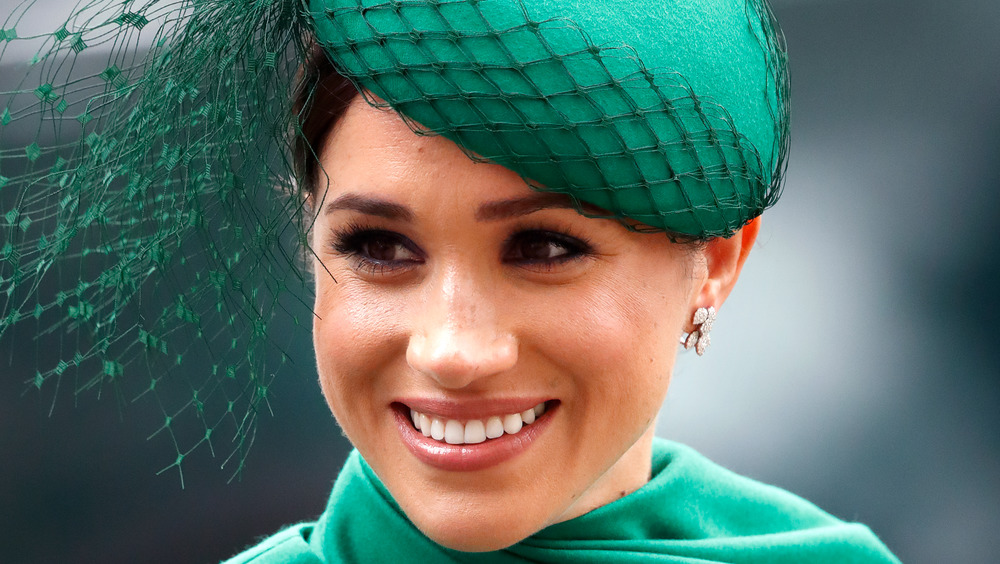 Meghan Markle green outfit