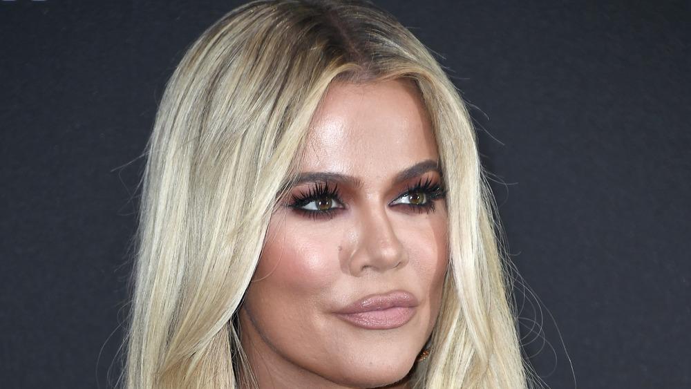Khloe Kardashian red carpet