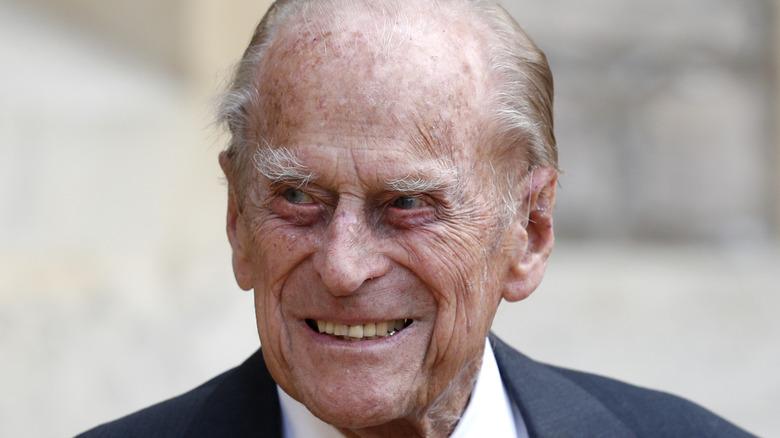 Prince Philip at Windsor Castle