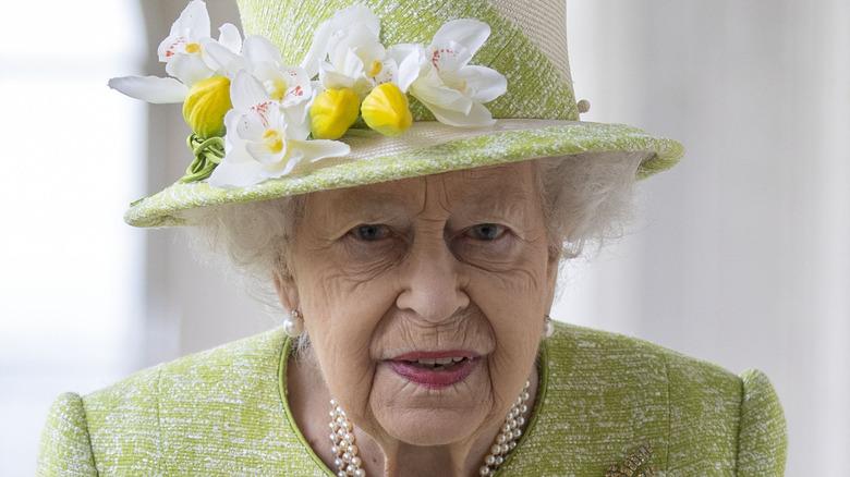 Queen Elizabeth II at Royal Australian Air Force Memorial 2021